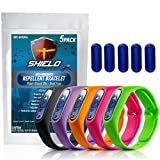 NextDia Shield Natural Anti Mosquito Repellent Bracelet - 5 Pack - Insect & Bug...