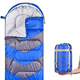 Abco Tech Sleeping Bag - Envelope Lightweight Portable, Waterproof, Comfort with...
