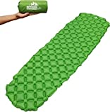 Outdoorsman Lab Camping Accessories – 73' x 21.6' x 2.2' Inflatable Sleeping...