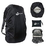 Jepeak Waterproof Backpack Rain Cover, 25L-45L Daypack Rainproof Dustproof...