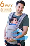 360 Ergonomic Baby Carrier - All Season Baby Sling - 6 Position, Easy...