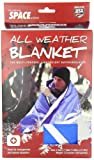 Grabber Outdoors Original Space Brand All Weather Blanket: Blue