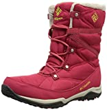 Columbia Women's Minx FIRE Tall LACE OH-W, Ruby/Acid Yellow, 5 M US