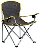 Quik Chair Heavy Duty Folding Camp Chair, Extra Large Folding Chair