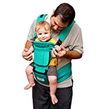 BabySteps 6-IN-1 Ergonomic Baby Hip Seat Carrier, Soft Carrier for All Shapes...