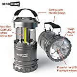 HeroBeam LED Lantern V2.0 with Flashlight - The Original Lantern/Flashlight...