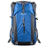 OutdoorMaster Hiking Backpack 50L - Hiking & Travel Backpack w/Waterproof Rain...