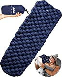 WELLAX Ultralight Air Sleeping Pad - Inflatable Camping Mat for Backpacking,...