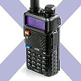 BTECH UV-5X3 5 Watt Tri-Band Radio VHF, 1.25M, UHF, Amateur (Ham), Includes Dual...