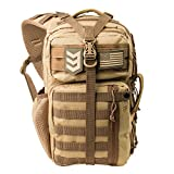 Outlaw II Tactical Gear Slinger Sling Pack, Over Shoulder Day Pack/Survival...
