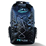 FE Active - 30L Eco Friendly Waterproof Dry Bag Backpack Great for All Outdoor...
