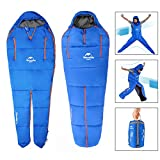 OUTERDO Camping Sleeping Bag Sleeping Bag Lightweight and Waterproof with a...