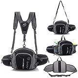 Multifunctional Waterproof Outdoor Waist Pack Backpack Shoulder Bag Daypack with...