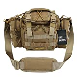 OneTigris Tactical Deployment Bag Compact Utility Carry Bag MOLLE Case Heavy...