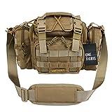 OneTigris Tactical Deployment Bag Compact Utility Carry Bag MOLLE Case Heavy...