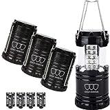Gold Armour 4 Pack LED Lantern Camping Lanterns for Hiking, Emergency,...