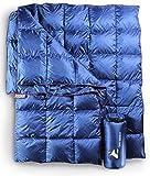 Horizon Hound Down Camping Blanket - Outdoor Lightweight Packable Down Blanket...