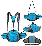 TOP-UP Multifunctional Water Resistant Outdoor Waist Pack Backpack Shoulder Bag...