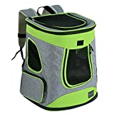 Petsfit Sturdy Hiking Pet Carrier Backpack for Pets up to 16LB -Upgrade Version...