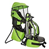 ClevrPlus Cross Country Baby Backpack Hiking Child Carrier Toddler Green