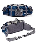 Bp Vision Outdoor Fanny Pack Hiking Camping Fishing Waist Bag 2 Water Bottle...