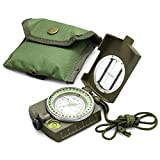 Eyeskey Multifunctional Military Lensatic Tactical Compass | Impact Resistant...