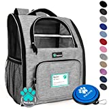 PetAmi Deluxe Pet Carrier Backpack for Small Cats and Dogs, Puppies | Ventilated...