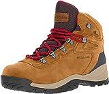 Columbia Women's Newton Ridge Plus Hiking Boot, Elk/Mountain Red, 7 Regular US