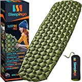 Sleepingo Camping Sleeping Pad - Mat, (Large), Ultralight 14.5 OZ, Best Sleeping...