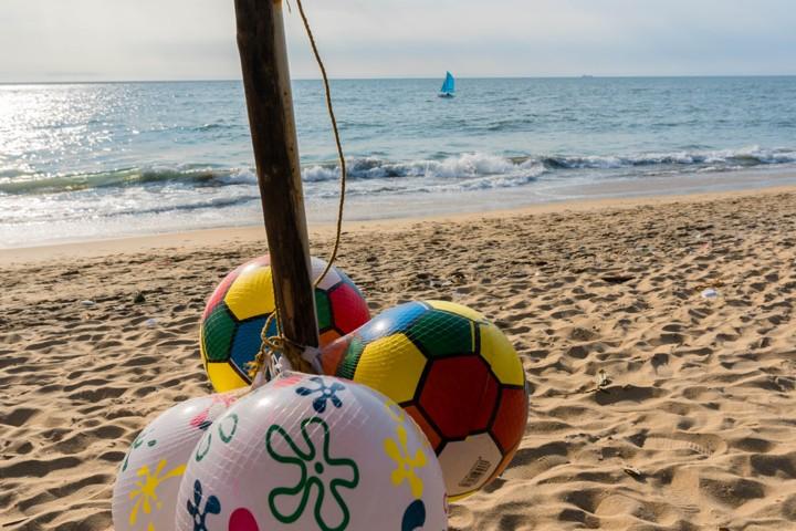 Cherai beach balls