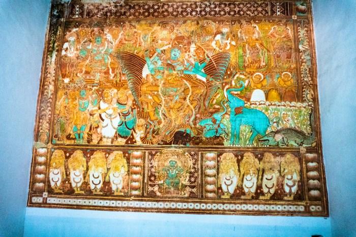 gajendramokshmam mural painting