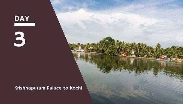 krishnapuram palace to kochi