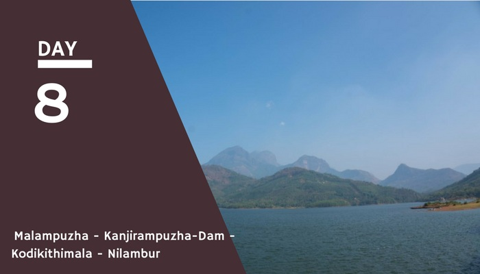 Malampuzha Dam to Nilambur Via Kodikithimala