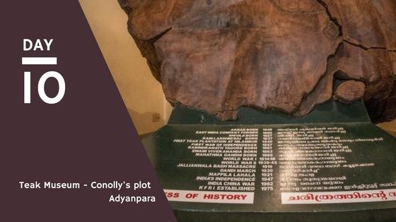 Conolly's plot - Teak Museum & Adyanpara
