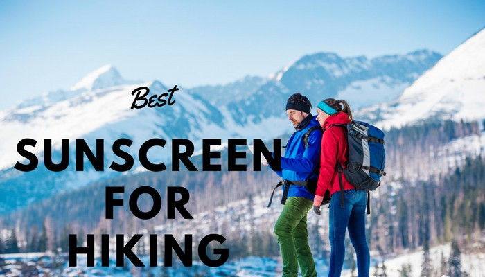 best sunscreen for hiking