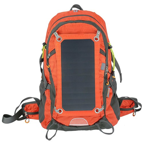 Solar Charger Internal Frame Backpack Hiking Camping Backpacks