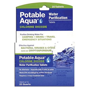 Potable Aqua Chlorine Dioxide Tablets