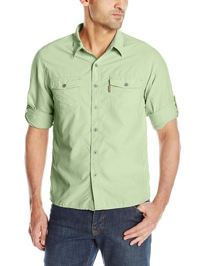 White Sierra Men's Bug Free Sanibel Long Sleeve hiking Shirt