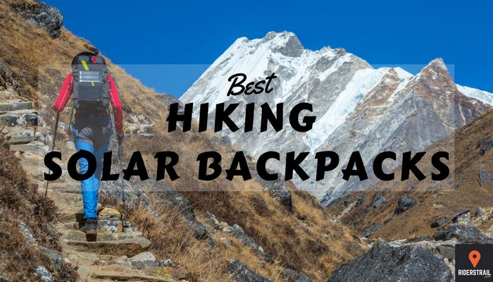 best hiking solar backpacks