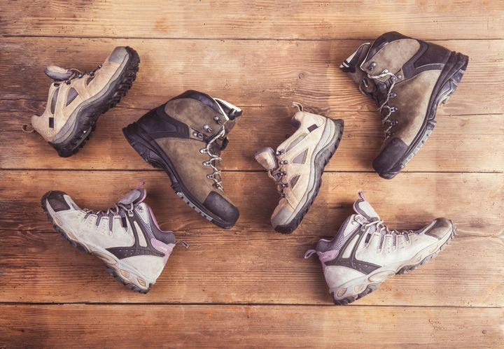 hiking boots collection