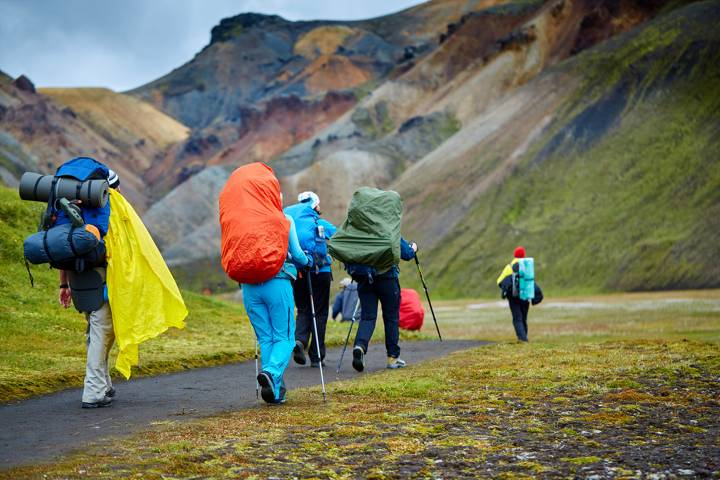 hiking mountain backpack rain cover