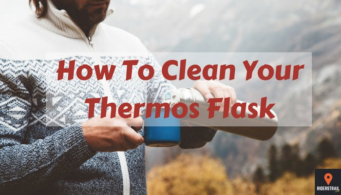 how to clean your thermos flask