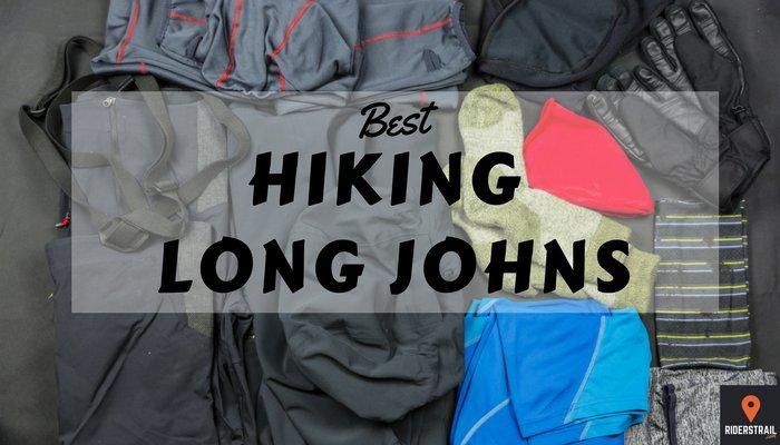 best hiking long johns