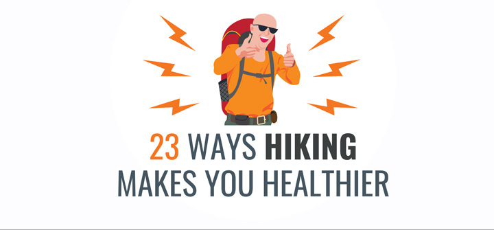 hiking benefits for health