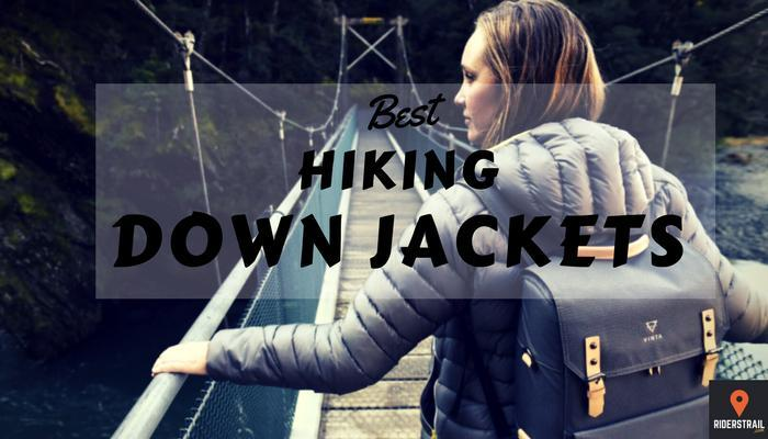 hiking down jackets