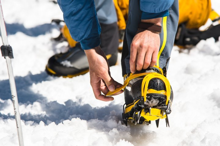 ice crampons for traction
