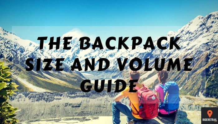 The Backpack Size and Volume Guide