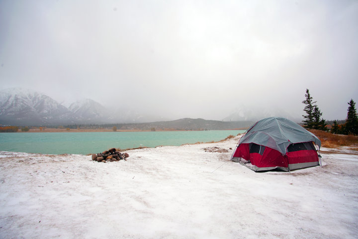 How to select a campsite for winter